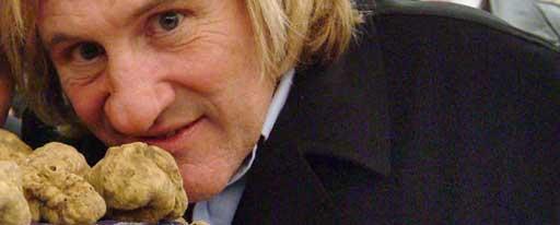 Anche Gerard Depardieu è un grande estimatore del tartufo bianco di Alba