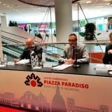 Da sin. Giuseppe Nicolo, Ernesto Dalle Rive, Massimo Cossavella