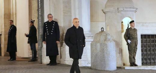 Il ministro Marco Minniti  (Foto Oreste Fiorenza - Min Interno